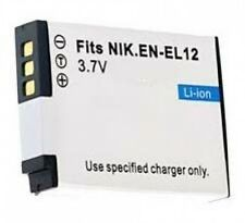 1200mAh Battery for Nikon EN-EL12 ENEL12 25780 AW100 P300 S1200PJ S8200 S9100