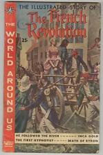 World Around Us #14 October 1959 Vg The French Revolution