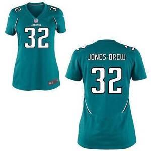 New Women's Nike Jacksonville Jaguars Maurice Jones Drew On Field Jersey Sm $95