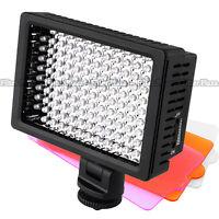 Pro HD-126-LED Video Light Lamp for Canon Nikon Sony DSLR Camera DV Camcorder