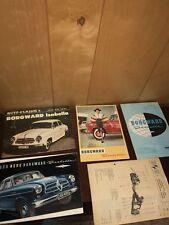 Borgward Isabella Brochure And Booklets