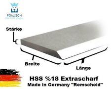 1 Stück Hobelmesser / Streifenhobelmesser 18% HSS 250mm-640mm 18-35mm