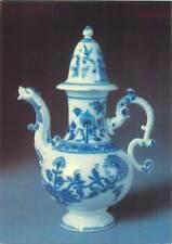 Postcard art decoration painted vase tea