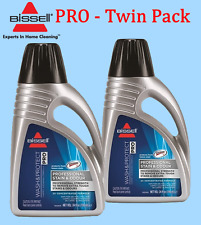 Two -2 Bottles Bissell Stain & Odour Formula Carpet Shampoo Home or Office 78H6E