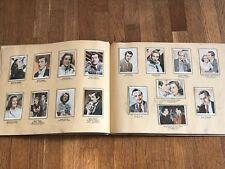 Album figurine FILM SERIE 1950 COMPLETE F Sinatra Chaplin Lancaster Taylor cards