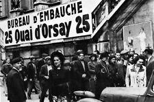 WW2 - Bureau d'embauche pour l'Allemagne à Paris