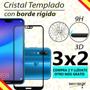 Protector Pantalla Huawei P20/ P20 Lite / P20 Pro Cristal Templado 3D 9H
