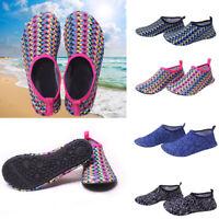 Mens Womens Water Shoes Aqua Socks Diving Socks Pool Beach Swim Slip On Surf NEW