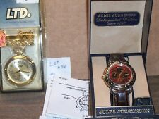 Lot 686 #2 Vintage Men Watches pocket watch wrist watch New never used