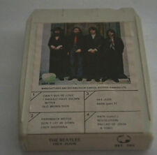 THE BEATLES Hey Jude RARE Find Canada White Shell 8 Track Audio Tape Cartridge