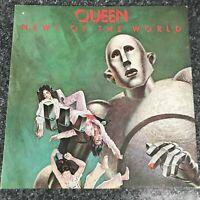 LP VINYL ALBUM QUEEN - NEWS OF THE WORLD - GATEFOLD UK 1ST PRESS EMA 784  EX/EX