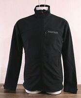NWT Marmot Men's Bero Softshell Jacket Windproof Black LARGE L900936 M3 NEW