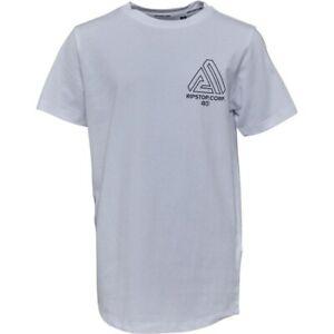 Ripstop Junior Mullen T-Shirt White - XSB Age 5-6  RRP £15