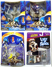LOST IN SPACE Movie ROBOT, FUTURE SMITH, JUDY Action Figures and TV ROBOT B-9