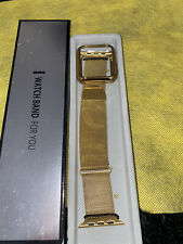 Apple 42mm Milanese Loop Watch Band - Gold