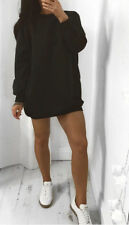 Womens Oversized Sweater Casual Dress Top