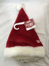 Petco Size L NWT Canine Santa Hat With Chin Strap
