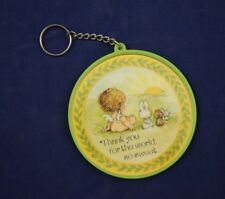 Vintage Hallmark Key Ring And Photo Holder Thank You For The World So Sweet NEW