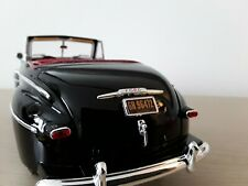 """1:18 """" Biff Tannens """" 1946 Ford Super Deluxe Convertible - BTTF Number Plates"""