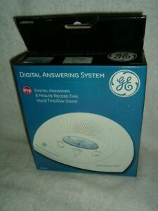 GE 29888GE1 Digital Answering System  6 Minute Record Time New In Open Box