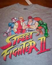 VINTAGE STYLE STREET FIGHTER II Capcom T-Shirt SMALL NEW Sega Nintendo