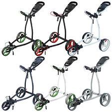 2020 Big Max Blade IP 3-Wheel Golf Trolley -5 Yr Warranty Fold Flat Compact Cart