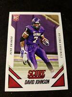 2015 SCORE #391 DAVID JOHNSON RC NORTHERN IOWA CARDINALS ROOKIE CARD B