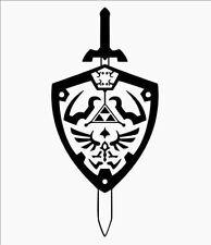 Decal Vinyl Truck Car Sticker - Video Games Legend Of Zelda Sword & Shield