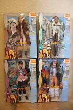 Mattel Barbie My Scene Chillin' Out dolls LOTS --Barbie, Nolee, Chelsea, Madison