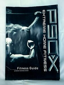 P90X Extreme Home Fitness Guide Extreme Training Book ONLY