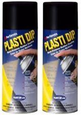 PLASTI DIP Mulit-Purpose Rubber Coating Spray BLACK 11oz, 2 PACK