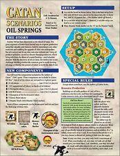 Catan Scenarios: Oil Springs of (Settlers of) Catan (New)