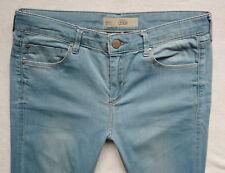 TOPSHOP Super soft Skinny LEIGH jeans light blue wash size 12 R W30 L32 L30