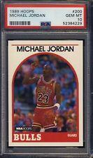 1989 Hoops #200 Michael Jordan PSA 10 NBA - NEW PSA GRADE - Ships From CAN & USA