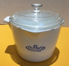 Vintage Corning Ware Sauce Maker - Corn Flower - 4 cups with Lid P81 C