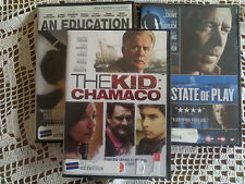 3 DVDs An Education, State of Play, The Kid Chamaco