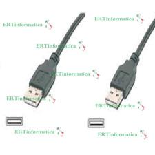CAVO USB  2.0 MASCHIO a MASCHIO TIPO A/A 1,5 METRI PROLUNGA MALE CABLE