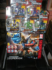 TRANSFORMERS COMBINER WARS LARGE SUPERION PLUS FALL OF CYBERTRON BRUTICUS SET