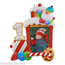 Hallmark 2012 My First Christmas Child Age Photo Frame Ornament