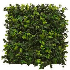 Hedgedin UV Stable Artificial Hedge Panel Ivy Bush Privacy Screen  A009 50x50cm
