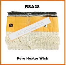 KERO KEROSENE HEATER WICK RSA28 with metal locator studs -  NEW OLD STOCK
