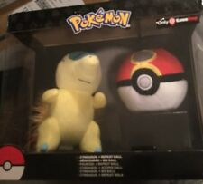 Cyndaquil + Repeat Ball Pokemon Plush Dolls Toys -TOMY NEW GameStop Exclusive