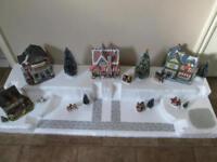 4FT. Christmas Village Display Platform D7 For Lemax Dept56 Dickens + More