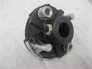 """1964-72 GM A Body 1""""-48 Spline X 13/16""""-36 Steering Rag Joint shaft coupler"""