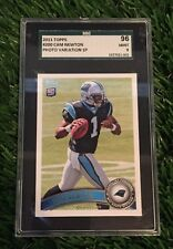 2011 Topps #200B Cam Newton rookie Photo variation Variant SSP RC SGC 96 Mint