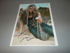 Kobra Paige  Kobra and the Lotus sexy signed autograph Autogramm 8x11 foto in p.