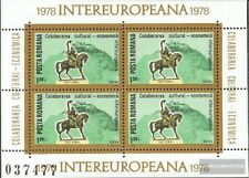 Romania block151 (complete issue) unmounted mint / never hinged 1978 INTEREUROPA