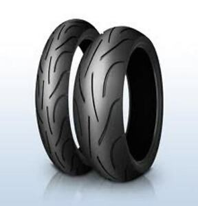 Satz 120/70 ZR17 (58W) & 180/55 ZR17 (73W) Michelin Pilot Power