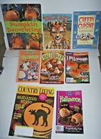 Big lot 8 Halloween party books Pumpkins Decorate House face art recipes ideas