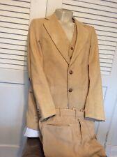 Vintage 3 Piece Corduroy Suit